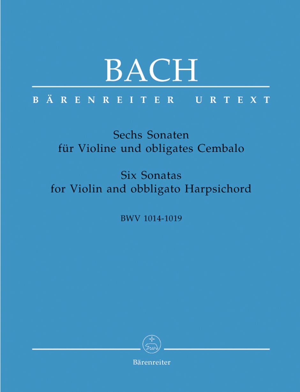 Six Sonatas for Violin and Harpsich