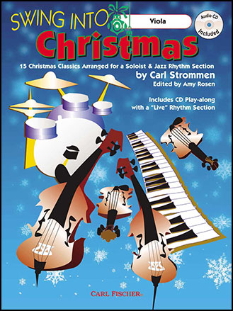 Swing into Christmas-Book and CD