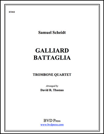 Galliard Battaglia-Trombone Quartet