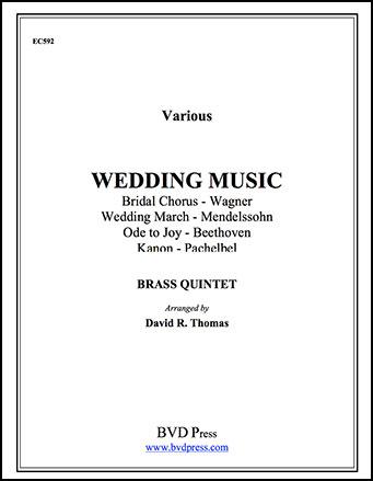 Wedding Music for Brass Quintet