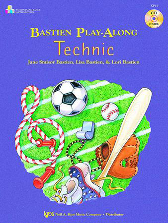 Bastien Basics No. 1-Play along Tech