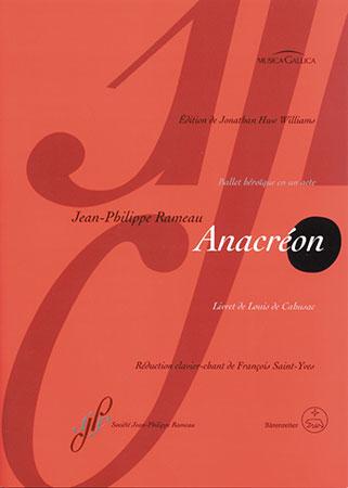 ANACREON VOCAL SCORE