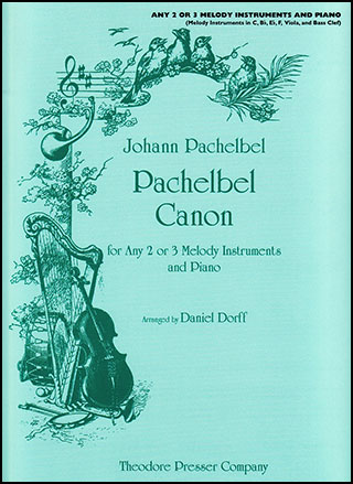 Pachelbel Canon-Any 2/3 Inst and Pi