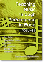 Teaching Music Through Performance in Band, Vol. 5
