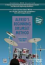 Alfred's Beginning Drum Set Method Cover