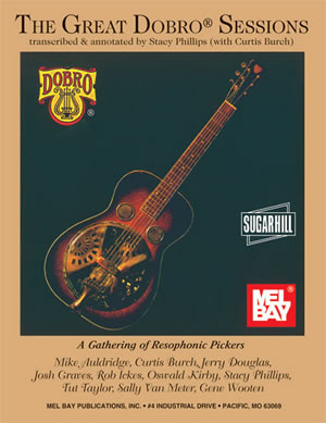 Great Dobro Sessions-Book