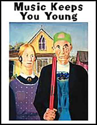 Music Keeps You Young Poster Cover