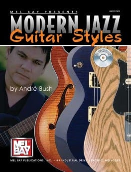 Modern Jazz Guitar Styles-Book and CD