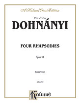 Four Rhapsodies Op. 11