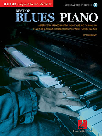 Best of Blues Piano-Book and CD