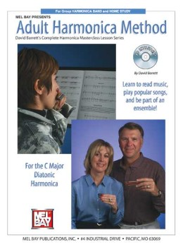 Adult Harmonica Method-Book and CD