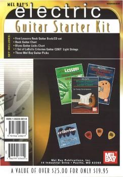 Electric Bass Guitar Starter Kit
