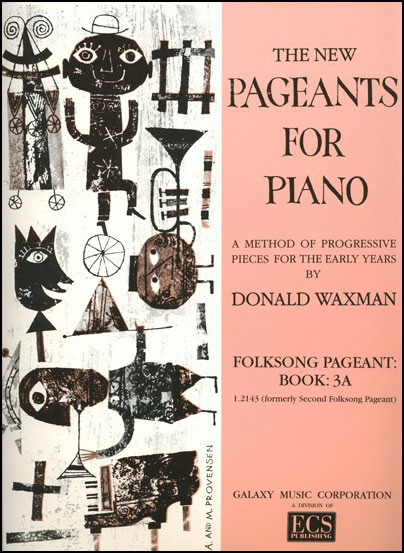 The New Pageants for Piano : Folksong Pageant Vol. 3A