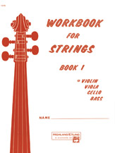 Workbook for Strings Volume 1