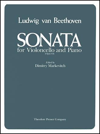 Sonata Op. 64-Cello