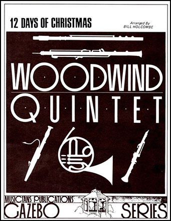 12 Days of Christmas-Woodwind Quintet