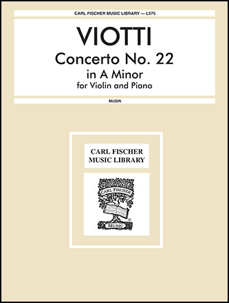 Concerto No. 22 in A minor