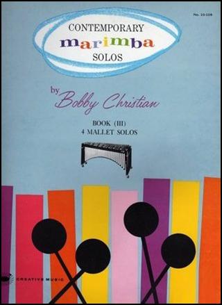 Contemporary Marimba Solos