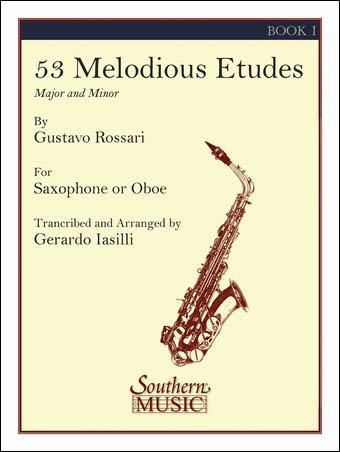 53 Melodious Etudes Book 1-Sax