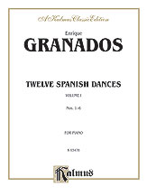 12 Spanish Dances Volume 1 No. 1-6