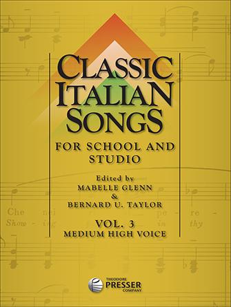 Classic Italian Songs-Vol 3-Med Hi