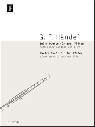 12 Duets for Two Flutes