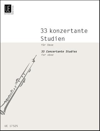 33 Concertante Studies-Oboe Solo