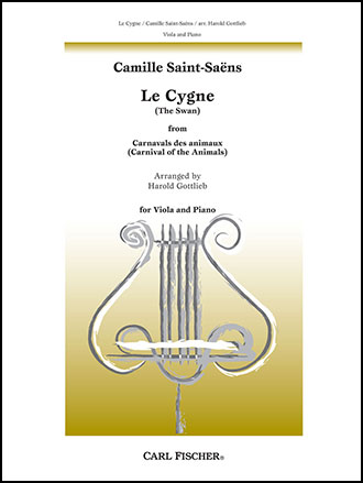 Le Cygne (Viola Solo with Piano ) by Ca | J W  Pepper Sheet