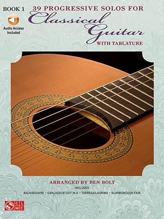 39 Progressive Solos for Classical Guitar No. 1