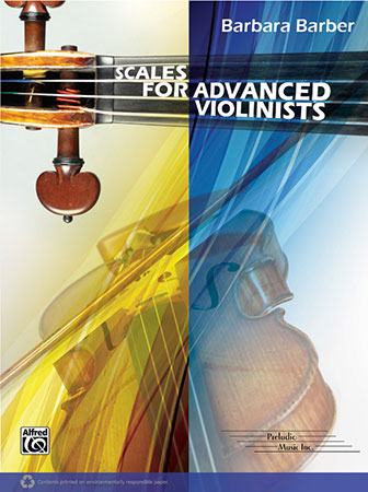 Scales for Advanced Violinists string sheet music cover