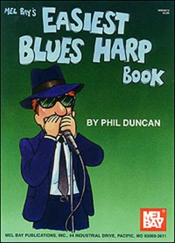 Easiest Blues Harp Book-Harmonica