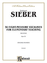 36 Eight Measure Vocalises