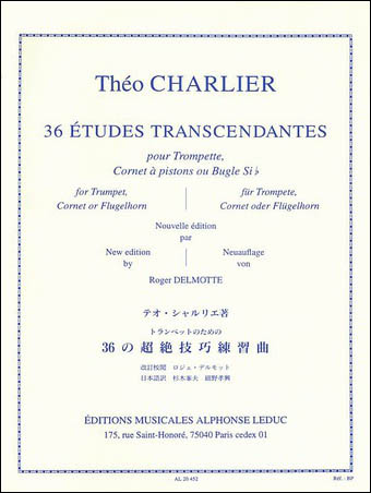 36 Transcendental Etudes Cover
