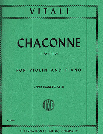 Chaconne in G Minor-Violin