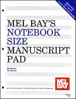 Notebook Size Manuscript Pad