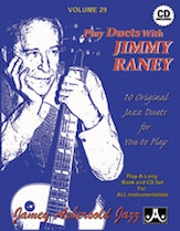 Jamey Aebersold Jazz, Volume  29 (Play Duets with Jimmy Raney)