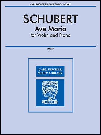 Ave Maria-Violin Solo (Violin | J W  Pepper Sheet Music