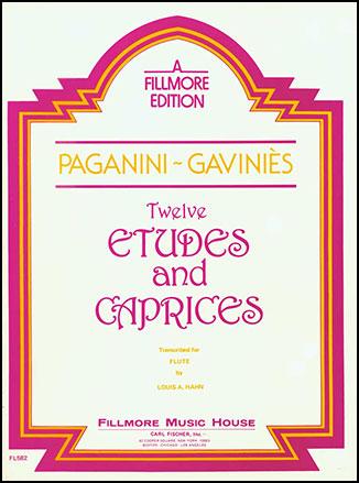 12 Etudes/Caprices-Flute Solo