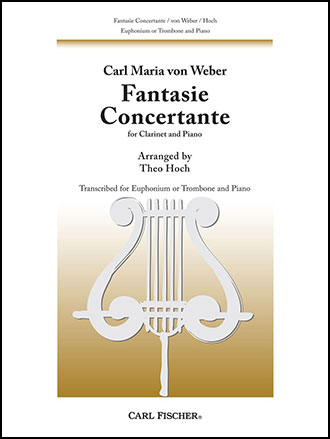 Fantasie Concertante (Trombone Solo with Pia | J W  Pepper Sheet Music