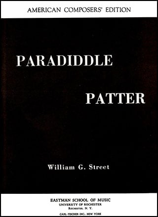 Paradiddle Patter-Snare Drum Solo