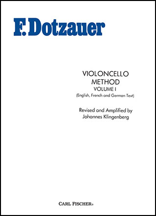 Dotzauer Violoncello Method Vol. 1