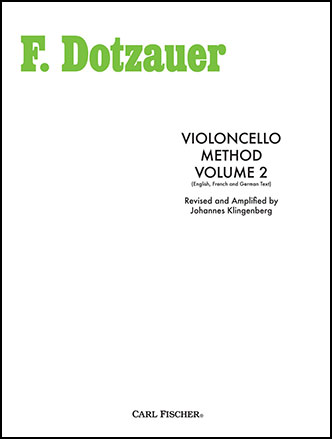 Dotzauer Violoncello Method Vol. 2