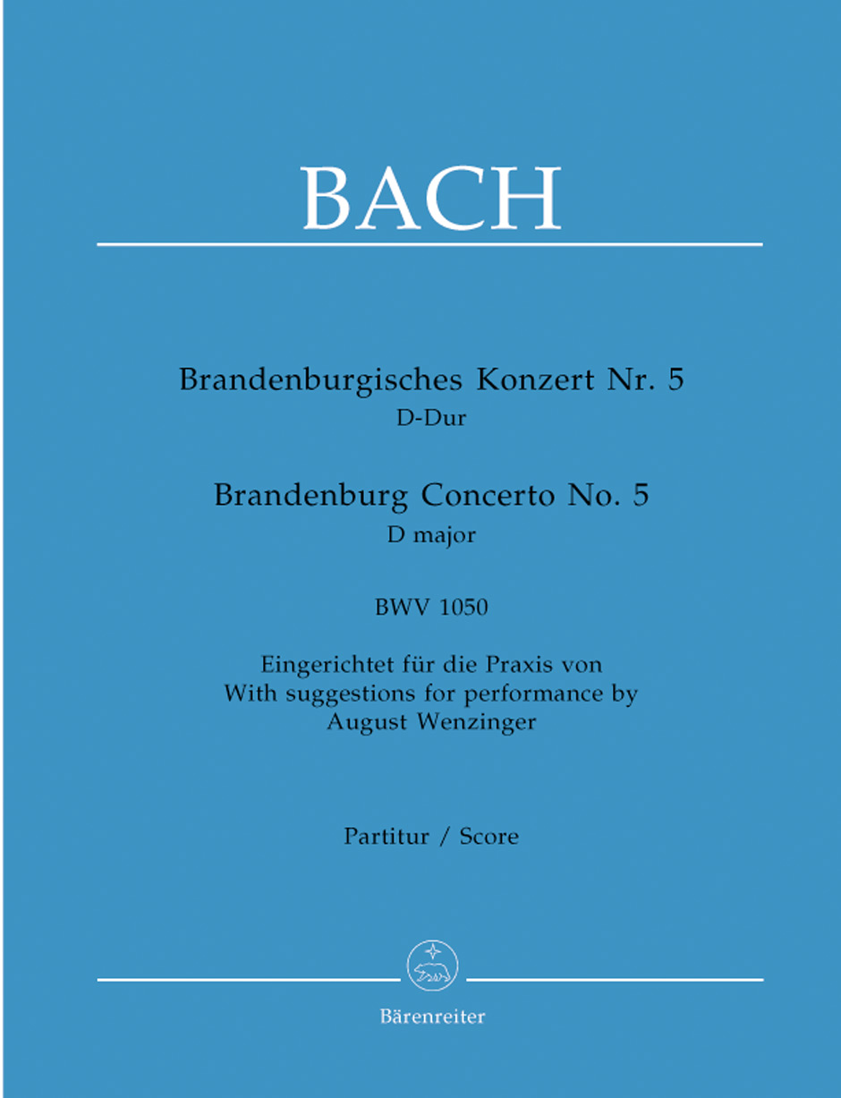 Brandenburg Concerto No. 5-Full Score