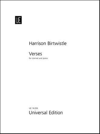 Verses-Clarinet/Piano