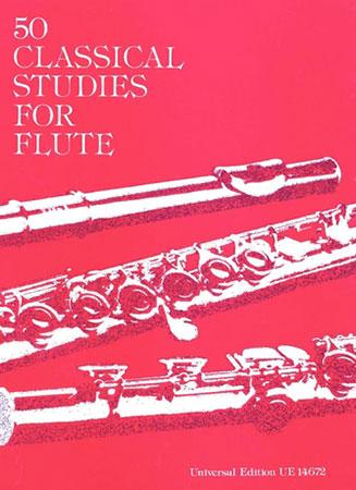 50 Classical Studies-Flute