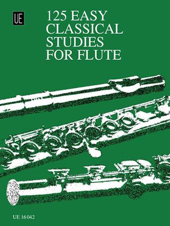 125 Easy Classical Studies-Flute