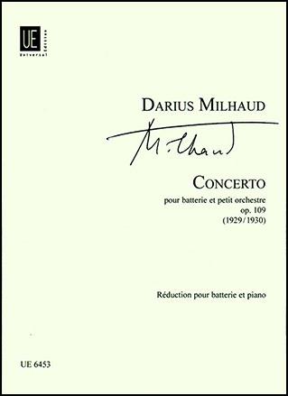 Concerto for Percussion and Small Orchestra