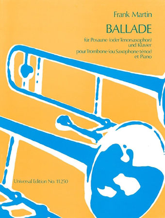 Ballade  for Trombone or Tenor Saxophone and Orchestra