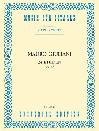 24 Etudes Op. 48-Guitar