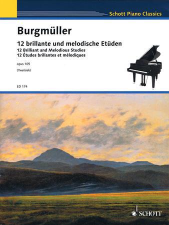 12 Studies Op. 105-Piano